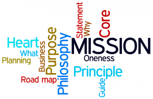Mission Word Collage