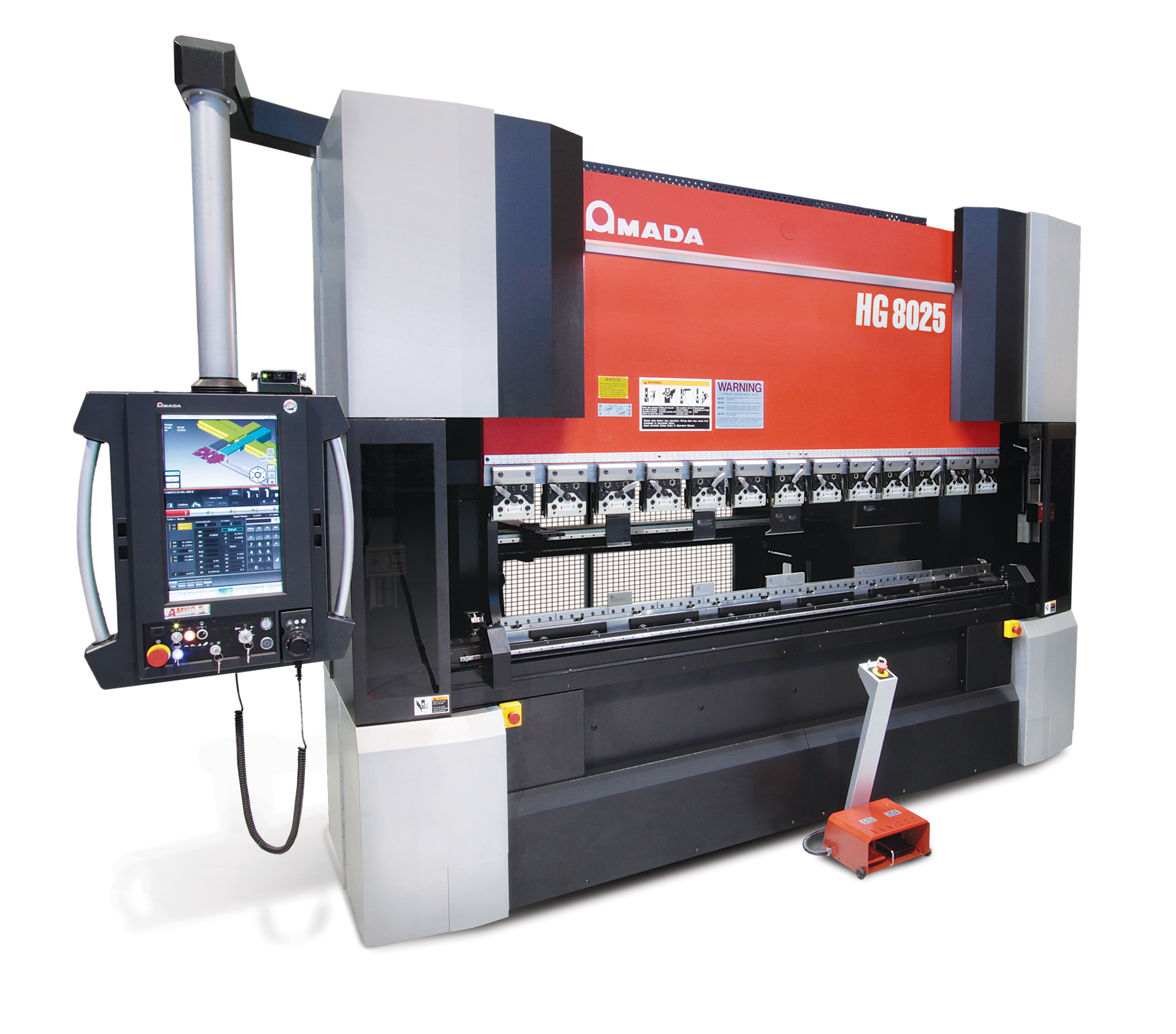 10' Press Brake with Automatic Tool Changer